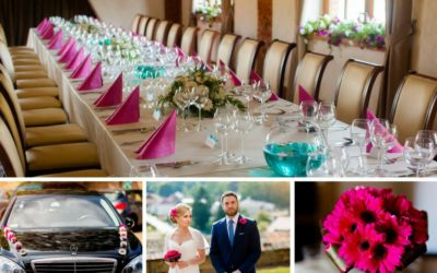 Elegancja w kolorze fuksji, czyli perfekcyjny ślub w trzy miesiące od zera!
